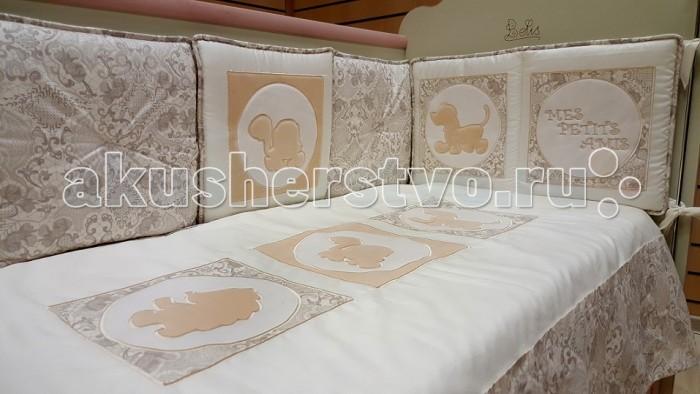 Бортики в кроватку Селена (Сдобина) Мои маленькие друзья, Бортики в кроватку - артикул:563576