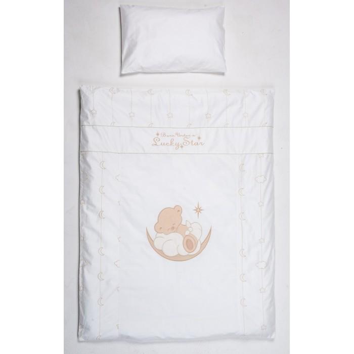 Постельное белье Селена (Сдобина) Счастливый мишка (3 предмета), Постельное белье - артикул:563996