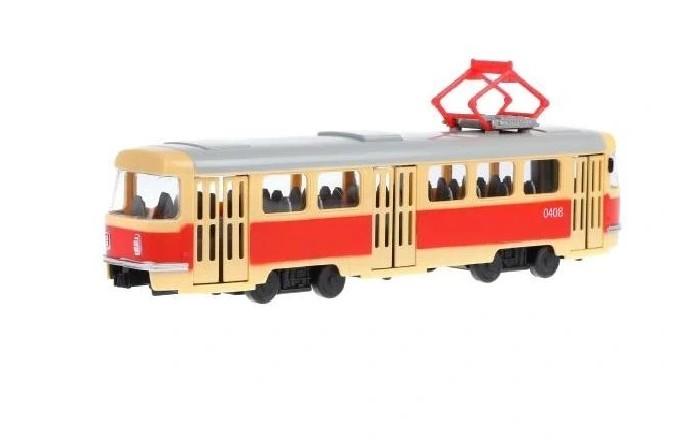 Фото - Машины Serinity Toys Детская машинка Трамвай машины maya toys машинка крутая тачка