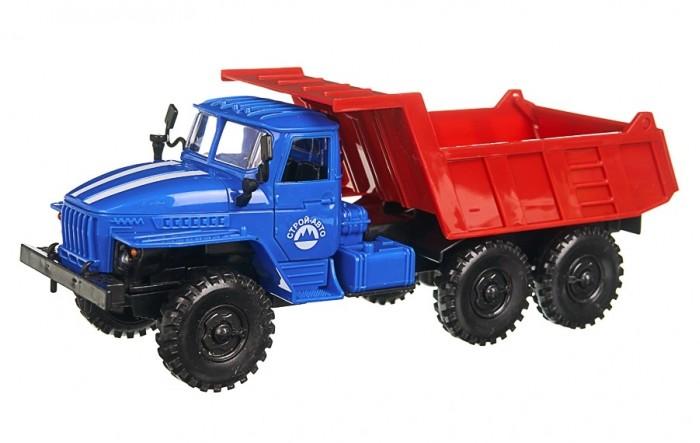 Фото - Машины Serinity Toys Инерционная машинка Самосвал Урал машины maya toys машинка крутая тачка