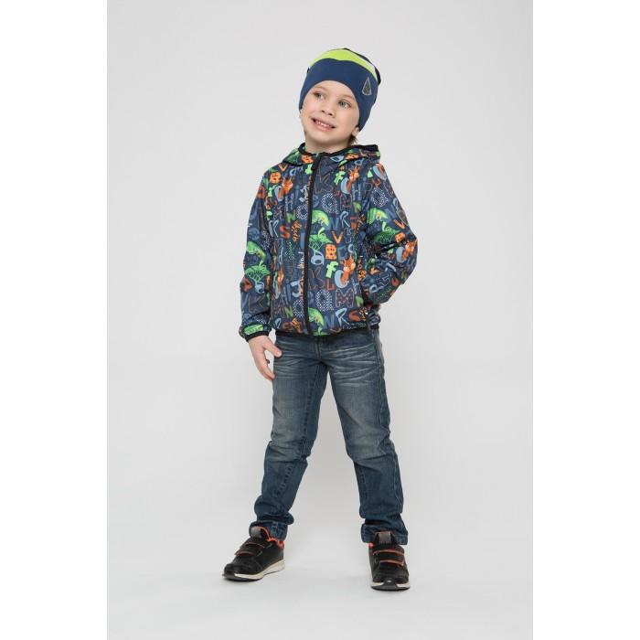 Верхняя одежда Шалуны Ветровка для мальчика Буквы