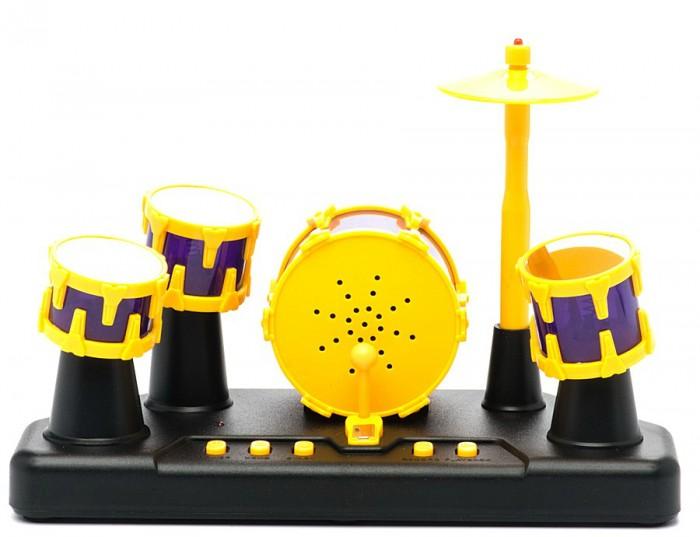 Музыкальные игрушки Shantou Gepai Сенсорная барабанная установка Барабанный ритм (свет, запись звука) музыкальные игрушки shantou gepai набор музыкальные инструменты 5 предметов