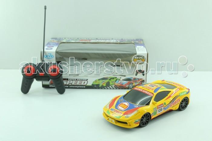 Машины Shenglong Машина на радиоуправлении Super Speed 1:16 703417 bluesea машинка на радиоуправлении racing car цвет синий