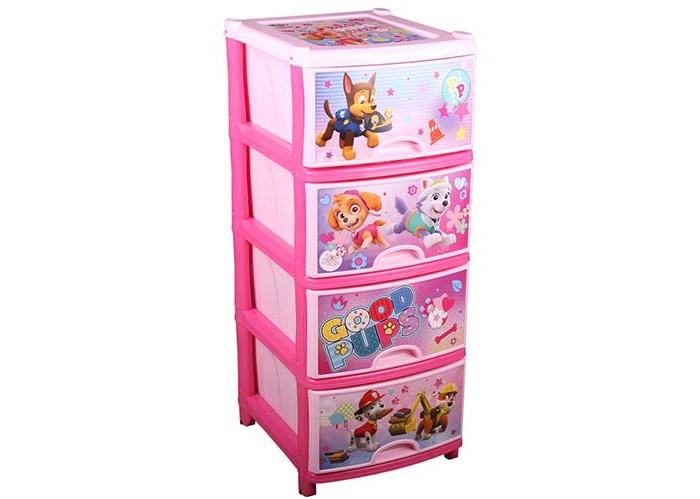 Детская мебель , Ящики для игрушек Щенячий патруль (Paw Patrol) Комод №1 арт: 421679 -  Ящики для игрушек