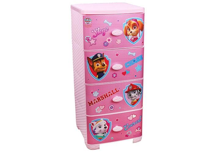 Детская мебель , Ящики для игрушек Щенячий патруль (Paw Patrol) Комод плетёный арт: 421694 -  Ящики для игрушек