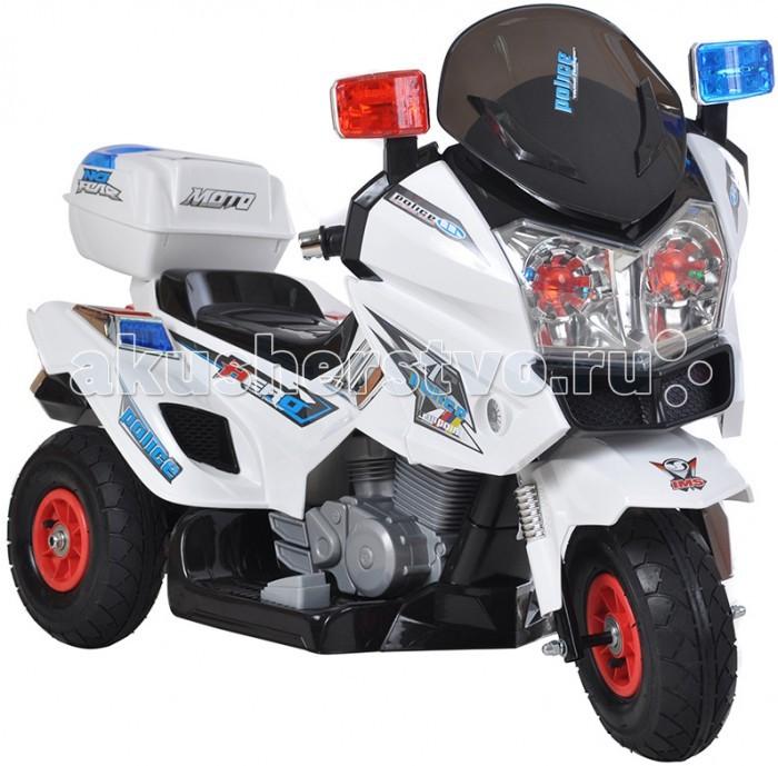 Электромобиль Shine Ring Мотоцикл 12V/7AhМотоцикл 12V/7AhShine Ring Электро-Мотоцикл 12V/7Ah SR8815  SHINE RING Электро-Мотоцикл – яркий полицейский мотоцикл с надувными колесами для малышей от 3 лет. Детализированная модель смотрится как настоящая, а ее стильный дизайн непременно привлечет внимание. Детский мотоцикл поможет развить физические способности и координацию движений.   Особенности: Имеется открывающийся багажник. Предусмотрены светодиодные передние и задние фары. Имеются провода и разъем для подключения Mp3 девайсов. Снабжен звуковыми функциями с регулировкой громкости. Двигатель запускается кнопкой. Зарядка длится 8-12 часов.   Допустимая скорость - 5 км/ч.  Нагрузка - 30 кг. Колес резиновые надувные.  Аккумулятор - 12V/7Ah. Количество скоростей вперед – 2, назад – 2.<br>
