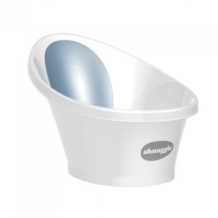 Картинка для Детские ванночки Shnuggle Ванночка для купания малыша с мягкой спинкой и фиксатором