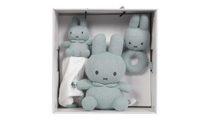 Мягкая игрушка Shokid Подарочный Набор Зайчик Miffy вязаный