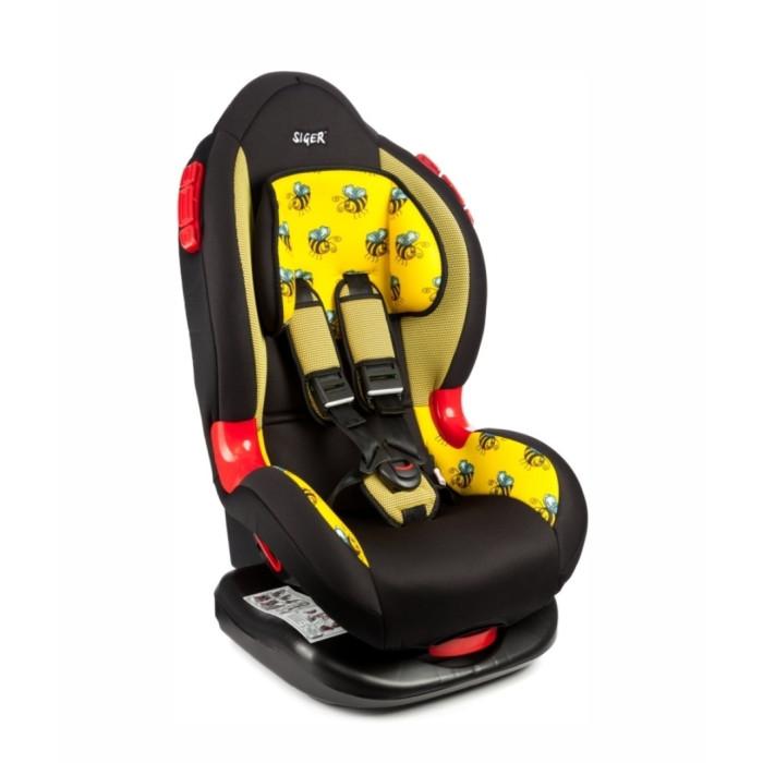 Автокресло Siger Арт КоконАрт КоконАвтокресло Siger Арт Кокон предназначено для детей от 1 года до 7 лет весом от 9 до 25 кг.   Автокресло имеет выраженную тыльную и боковую защиту, что обеспечивает защиту ребенка при резких поворотах и боковых ударах. Замок внутренних ремней безопасности обладает повышенной надежностью, внутренние ремни регулируюся по высоте в зависимости от роста ребенка.   Для детишек в возрасте от 1 до 4 лет можно регулировать наклон кресла в шести положениях. Детское автомобильное кресло Siger Арт Кокон производится в России, что обеспечивает приемлемую цену.   В детском автомобильном кресле Siger Арт Кокон ваш ребенок будет путешествовать в безопасности и с удовольствием!  Особенности: Регулировка внутренних ремней по высоте в зависимости от роста ребенка Ортопедическая спинка обеспечивает комфорт ребенка во время поездки 6 положений регулировки наклона автокресла позволяют ребенку удобно спать в дороге Выраженная тыльная и боковая защита, ударопрочные боковые демпферы обеспечивают безопасность при резких поворотах и боковых ударах Надежная система внутренних пятиточечных ремней с использованием специально разработанных ременных лент российского производства Соответствует правилам ЕЭК ООН № 44-04<br>