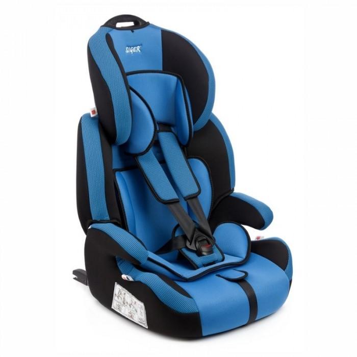 Автокресло Siger Стар IsofixГруппа 1-2-3 (от 9 до 36 кг)<br>Автокресло Siger Стар Isofix предназначено для детей от 1 года до 12 лет весом от 9 до 36 кг.   Особенности: Отличительным свойством автокресла является его универсальность.  При соответственном весе ребенка кресло может использоваться в течение 12 лет.  Для удобства малышей от 1 до 4 лет автокресло оборудовано 5-ти точечным ремнем безопасности с регулировкой по глубине и высоте, мягким съемным вкладышем и мягкими накладками на ремни.  Съемный чехол изготовлен из нетоксичного гипоаллергенного материала, который безопасен для малыша.  Детское автомобильное кресло Siger Стар Isofix легко переносить благодаря ручки сверху подголовника кресла.  Автокресло Siger Стар Isofix производится в России, что обеспечивает приемлемую цену.  В детском автомобильном кресле Siger Стар Isofix ваш ребенок будет путешествовать в безопасности и с удовольствием! Подголовник регулируется по высоте в зависимости от роста ребенка. Ортопедическая форма сиденья обеспечивает комфорт ребенка в поездке. Ярко выраженная боковая защита обеспечивает безопасность при резких поворотах и боковых ударах. Замок ремней с мягим клапаном и защитой от неправильного использования. Соответствует правилам ЕЭК ООН № 44-04.