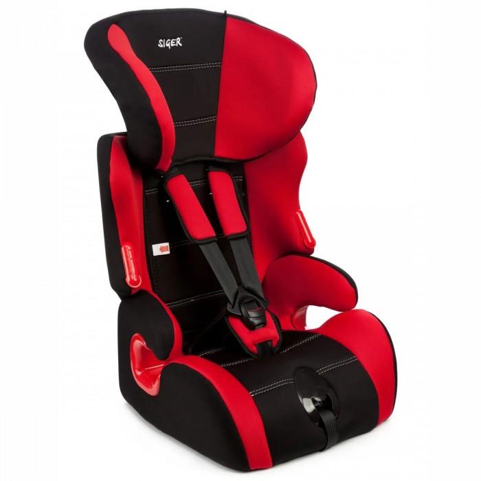 Автокресло Siger КосмоКосмоДетское автомобильное кресло «Siger Космо» предназначено для детей от 1 года до 12 лет весом от 9 до 36 кг. Автокресло имеет особую форму подголовника, которая надежно защищает ребенка от боковых ударов. Внутренние пятиточечные ремни регулируюся по высоте в зависимости от роста ребенка и по глубине специально под зимнюю одежду.   В зависимости от роста ребенка регулируется также подголовник кресла в 6-ти положениях. Возможность регулировки наклона спинки обеспечивает лучшую адаптацию автокресла к сиденью автомобиля.   Детское автомобильное кресло «Siger Космо» производится в России, что обеспечивает приемлемую цену. В детском автомобильном кресле «Siger Космо» ваш ребенок будет путешествовать в безопасности и с удовольствием!  6 положений регулировки подголовника по высоте в зависимости от роста ребенка Двухпозиционная регулировка центральной лямки позволяет адаптировать внутренние ремни под зимнюю и летнюю одежду ребенка Особая форма подголовника надежно защищает от боковых ударов Специальные ярлыки указывают направление прохождения штатного ремня безопасности Надежная система внутренних пятиточечных ремней с использованием специально разработанных ременных лент российского производства Регулировка наклона спинки для адаптации автокресла к сиденью автомобиля Нетоксичный гипоаллергенный материал безопасен для ребенка Соответствует правилам ЕЭК ООН № 44-04<br>