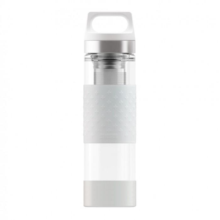 Купить Термосы, Термос Sigg Термобутылка H&C Glass WMB Midnight 0.4 л