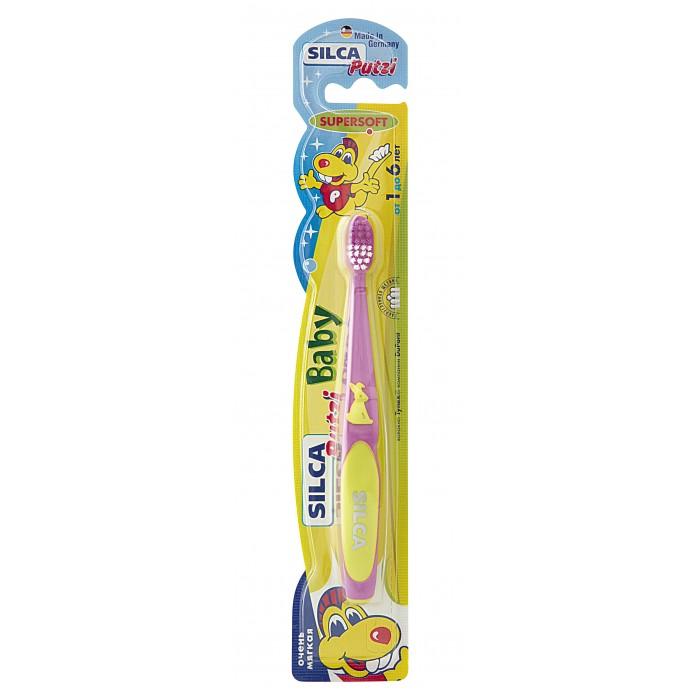 Гигиена полости рта Silca Putzi Зубная щетка Baby 1-6 лет