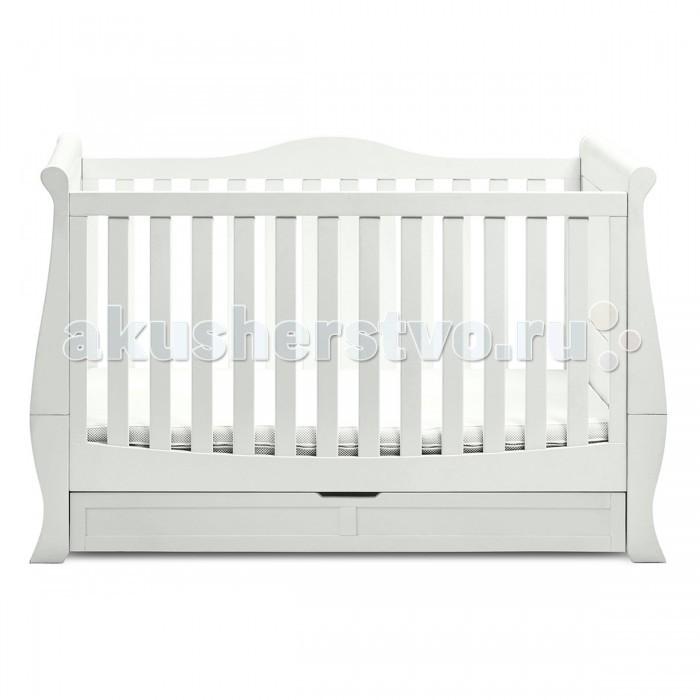 Детская мебель , Детские кроватки Silver Cross Nostalgia Sleigh арт: 381214 -  Детские кроватки