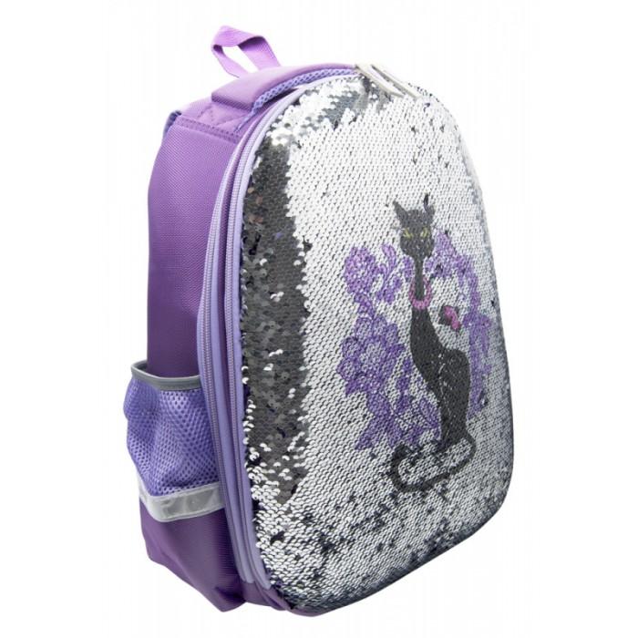 Купить Школьные рюкзаки, Silwerhof Рюкзак Кошка с пайетками