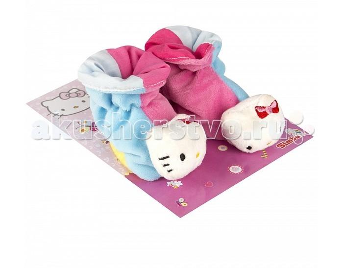 Обувь и пинетки Simba Тапочки-погремушки Hello Kitty погремушки simba турник с погремушками 60 см 8 8