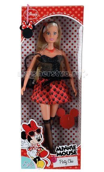 Куклы и одежда для кукол Simba Кукла Штеффи Minnie Mouse вечеринка игра simba minnie mouse утюг 4735135