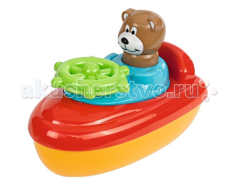 Игрушки для ванны Simba ABC Игрушка для купания Лодка с фигуркой