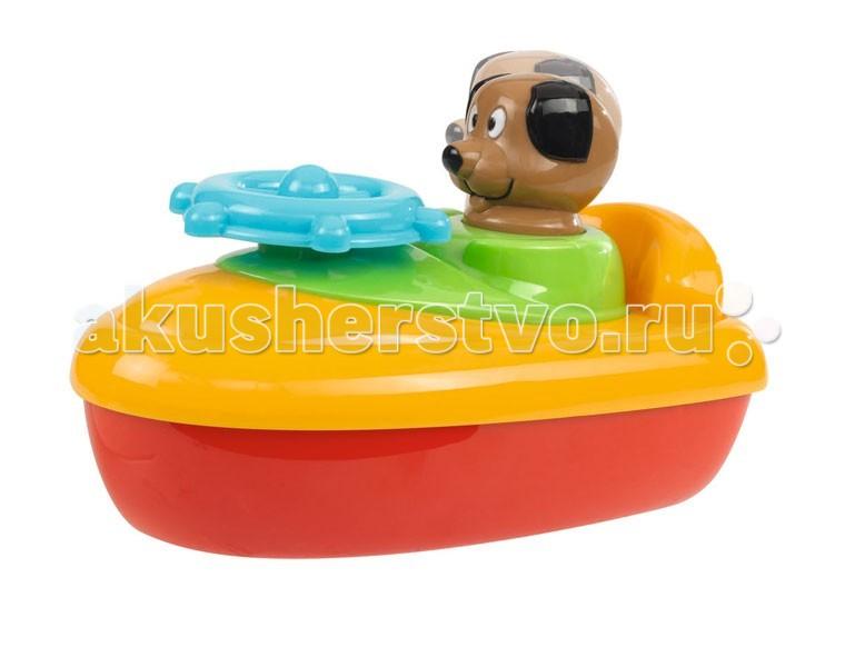 Игрушки для ванны Simba ABC Игрушка для купания Лодка с фигуркой simba игрушки дл ванны 4012072