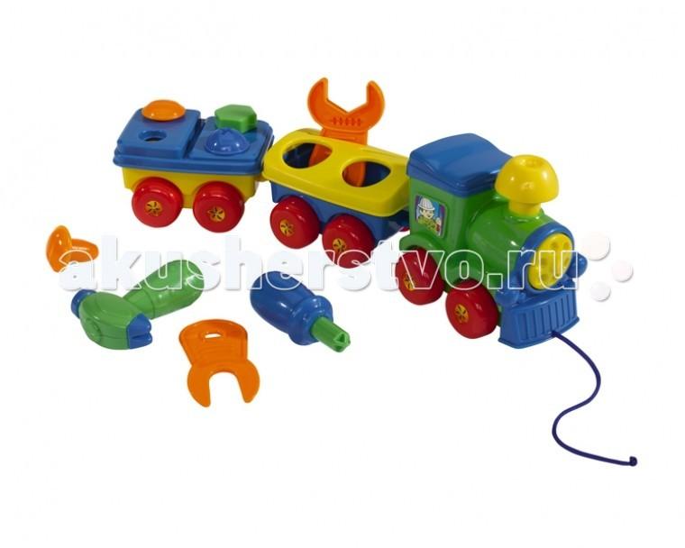 Каталки-игрушки Simba ABC Веселый паровозик