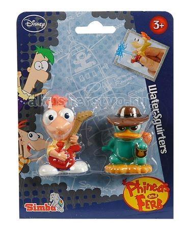Игрушки для ванны Simba Брызгалки Финис и Ферб simba игрушки дл ванны 4012072