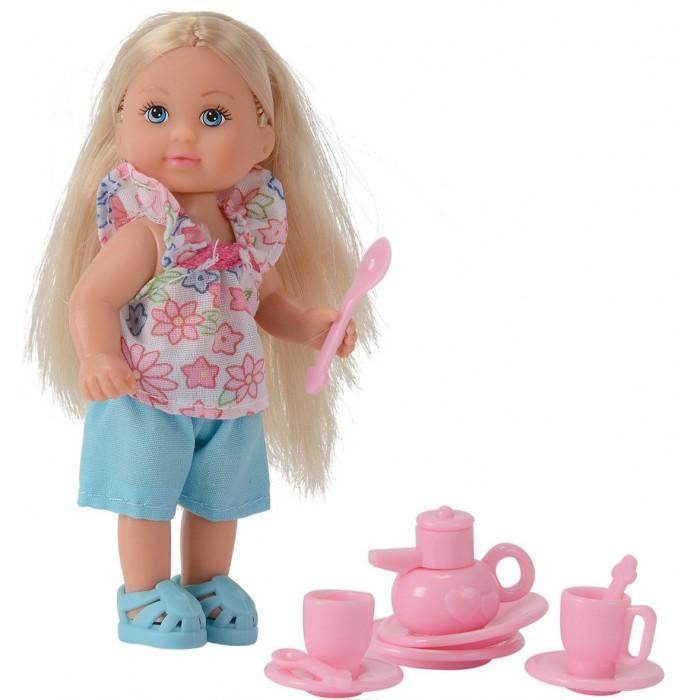 Куклы и одежда для кукол Simba Кукла Еви и аксессуары куклы и одежда для кукол simba кукла еви с малышом на прогулке