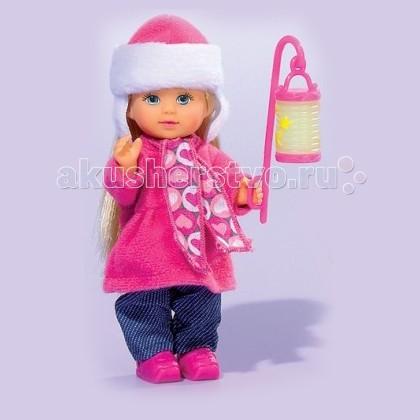Куклы и одежда для кукол Simba Кукла Еви с фонариком куклы и одежда для кукол simba кукла еви с малышом на прогулке