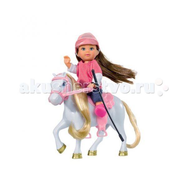 Куклы и одежда для кук��л Simba Кукла Еви с пони protective tpu pc case w stand for motorola moto g phone white black