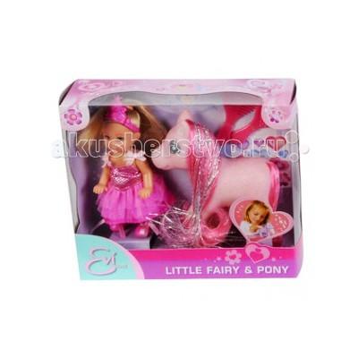 Куклы и одежда для кукол Simba Кукла Еви принцесса с пони кукла simba еви и пони