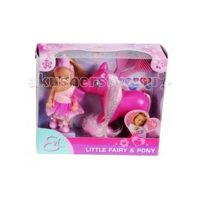 Куклы и одежда для кукол Simba Кукла Еви принцесса с пони