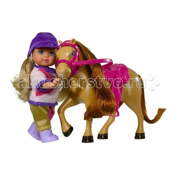 Куклы и одежда для кукол Simba Кукла Еви с пони кукла simba еви и пони