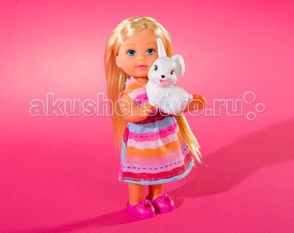 Куклы и одежда для кукол Simba Кукла Еви со зверюшками куклы и одежда для кукол simba кукла еви со стильной собачкой 12 cм