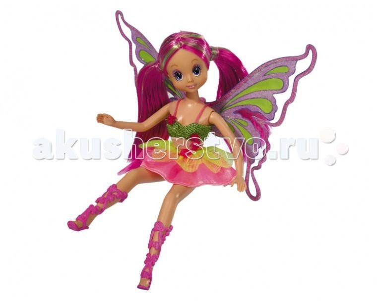 Куклы и одежда для кукол Simba Кукла Фея-бабочка с аксессуарами disney fairies 850530 дисней фея 11 см набор из 2 кукол с аксессуарами