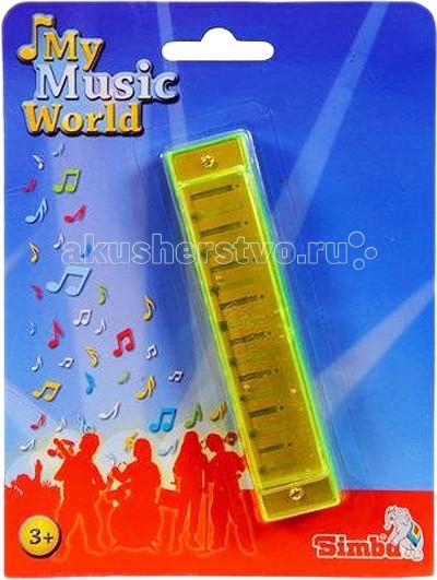 Музыкальные игрушки Simba Губная гармошка музыкальные игрушки