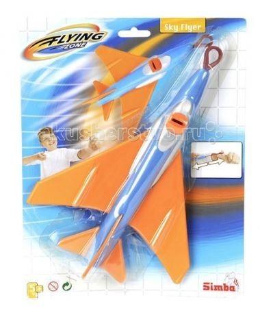 Вертолеты и самолеты Simba Летающий самолет 25 см simba самолет инерционный цвет красный
