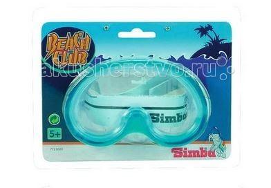Очки, маски и трубки для плавания Simba Маска для плавания Beach Club 7720603