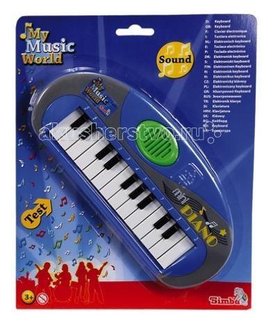 Музыкальные игрушки Simba Мини-пианино музыкальные игрушки simba музыкальный телевизор 4014297