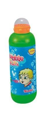 Мыльные пузыри Simba Мыльные пузыри Bubble Fun 500 мл мыльные пузыри 1 toy мыльные пузыри angry birds колба 90 мл