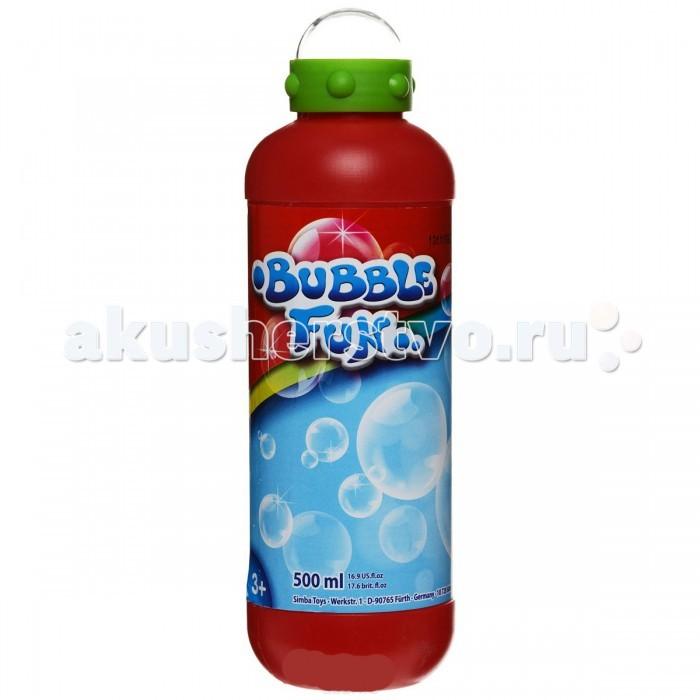 Мыльные пузыри Simba Мыльные пузыри Bubble Fun 500 мл мыльные пузыри формула 1 60 мл