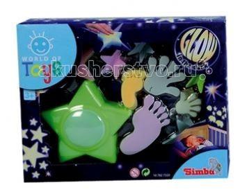 Ночники Simba Наклейки светящиеся World of Toys + ночник simba светящиеся наклейки ночнички