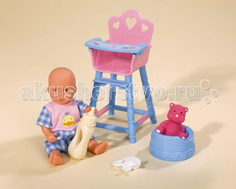 куклы и одежда для кукол rubens barn пупс linne strawberry Куклы и одежда для кукол Simba Пупс New Born Baby mini Новорожденный
