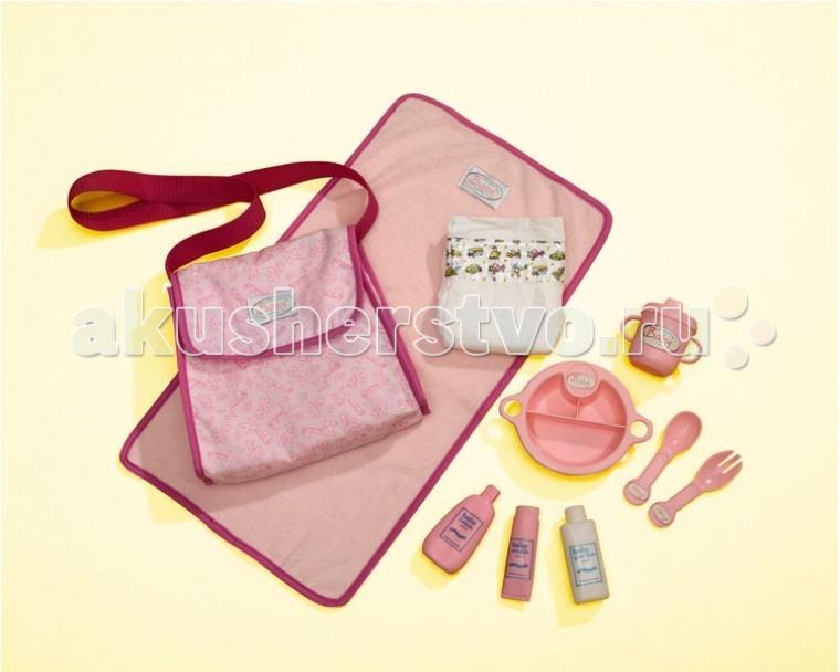Куклы и одежда для кукол Simba New Born Baby Одежда и аксессуары для пупса + сумка куклы и одежда для кукол simba пупс 38 см 5032533