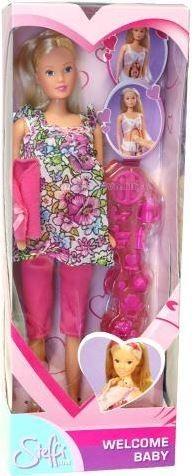 Куклы и одежда для кукол Simba Кукла Штеффи беременная кукла simba кукла штеффи диджей