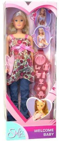 Куклы и одежда для кукол Simba Кукла Штеффи беременная кукла simba кукла штеффи супермодель с аксессуарами