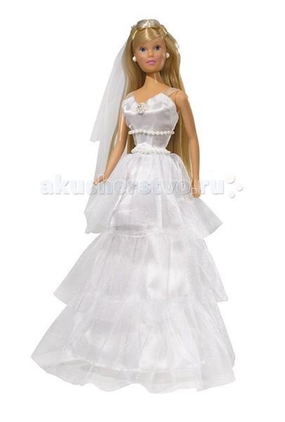 Куклы и одежда для кукол Simba Кукла Штеффи в свадебном наряде куклы