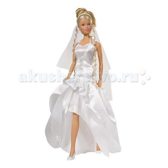 Simba Кукла Штеффи в свадебном наряде