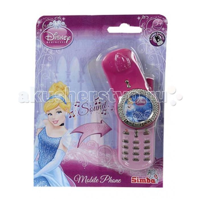 Развивающие игрушки Simba Телефон Герои Диснея simba музыкальная гитара на батарейках свет звук 43 5 см 4010529