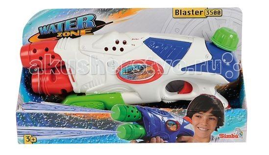 Игрушечное оружие Simba Водное оружие двухствольное 35 см игрушечное оружие simba водный пистолет toy story 42 см