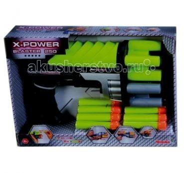 Игрушечное оружие Simba X-Power Бластер 250 бластер bebelot водомет beb1106 022