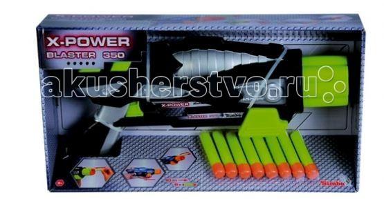 Игрушечное оружие Simba X-Power Бластер 350 игрушечное оружие yako игрушечное оружие 2 в 1 y4640125